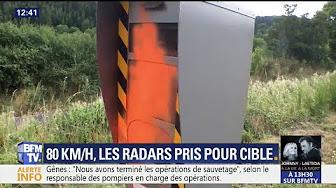 Radars : bientôt tous vandalisés ? (VIDÉO)