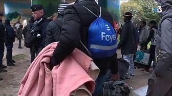 Nantes : un nouveaux camp de clandestins évacué