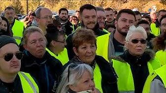 « Gilets jaunes » : « Le mouvement continue » malgré l'allocution de Macron