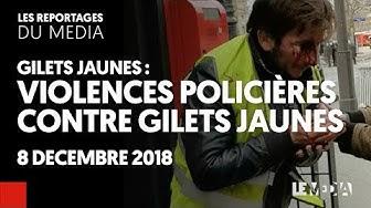 Violences policières contre gilets jaunes (VIDÉO)