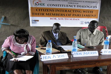 Constituency dialogue
