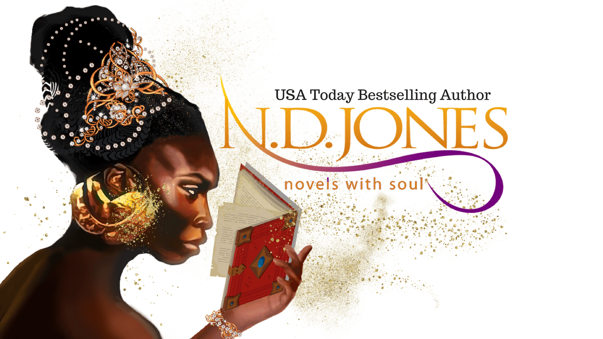 N.D. Jones, Paranormal Romance Author