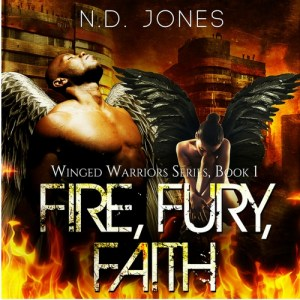 Fire Fury Faith African American Angel Romance by ND Jones200x300
