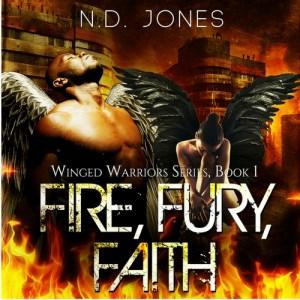 Fire Fury Faith African American Angel Romance by ND Jones200x300