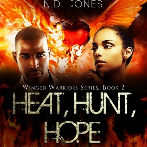 Heat Hunt Hope African American Angel Romance by ND Jones 200x300