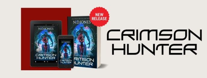 Crimson Hunter Urban fantasy New release