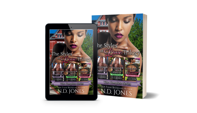 The Styles of Love Trilogy African American Series Boxset Romance by ND Jones