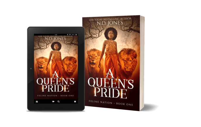 A Queen's Pride African American Shifter Fantasy by ND Jones