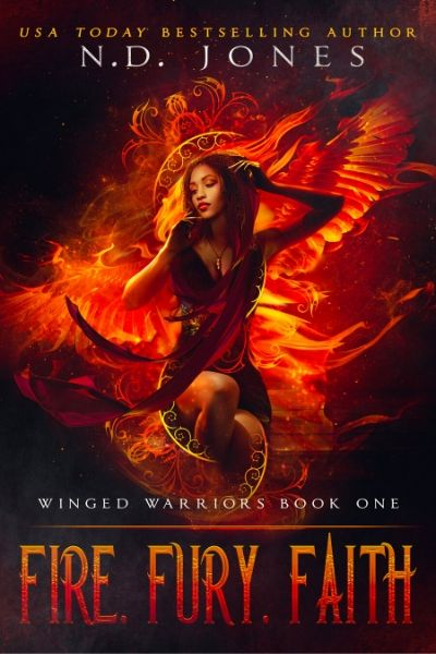 Fire Fury Faith African American Angel and Demon Paranormal Romance by ND Jones