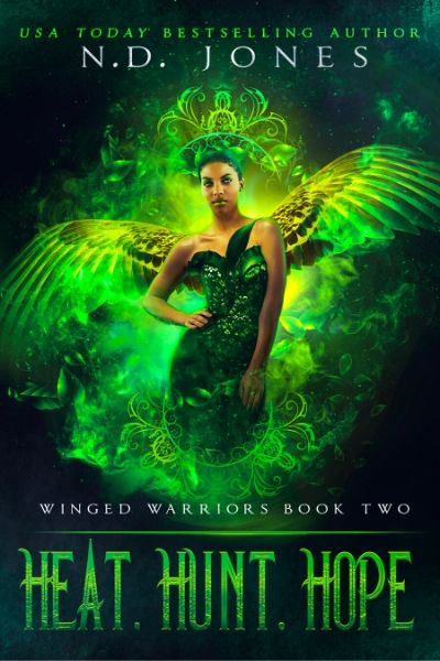 Heat Hunt Hope African American Angel and Demon Paranormal Romance by ND Jones