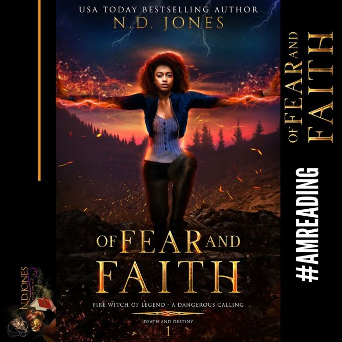 #AmReading African American Urban Fiction Romance Of Fear and Faith by ND Jones
