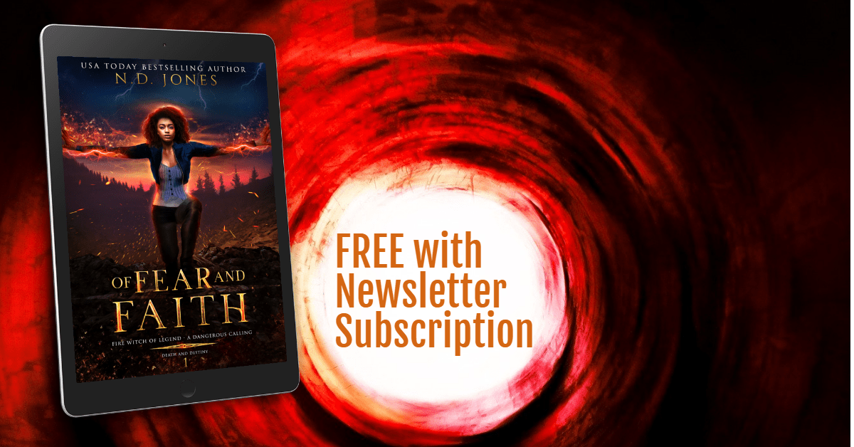 Of Fear and Faith FREE Paranormal Romance Novel with ND Jones Newsletter Subscription