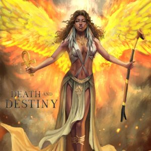 Fire Witch of Legend Death and Destiny Paranormal Romance trilogy by ND Jones