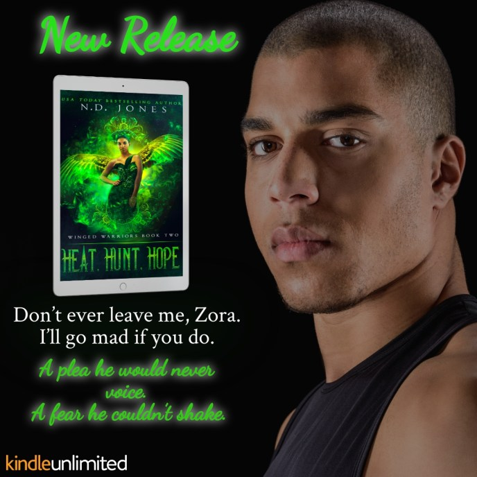 Heat Hunt Hope African American Angel Demon Romance by ND Jones