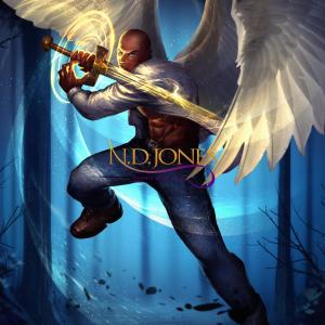 Winged Warriors Archangel Nathaniel Black Fantasy Romance by ND Jones