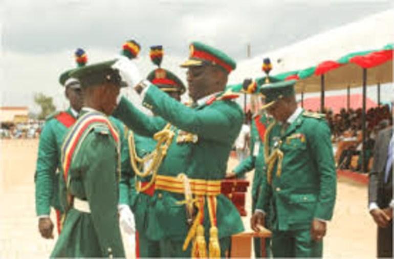 Entrance Examination into Nigerian Military School, Zaria