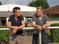 Die Transmänner Marino (l.) und Fabian