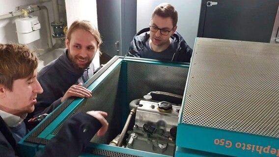 Forschung in Hamburg: Heizen mit Wasserstoff
