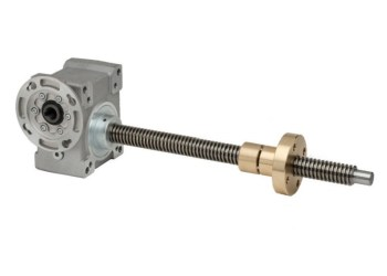 Mechanical screw jacks for lifting