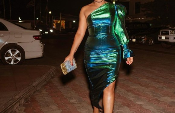 young Forever: Actress Rita Dominic Steps Out For AFRIFF Looking Gorgeous (Photo)