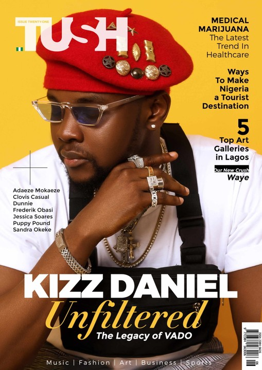 Kizz Daniel Rocks The Cover Page Of TushMagazine's 21st Issue (photos) 1