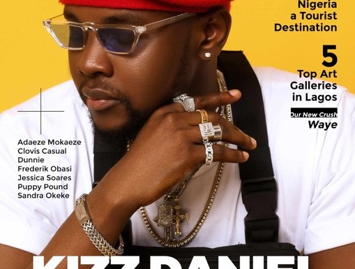 Kizz Daniel Rocks The Cover Page Of TushMagazine's 21st Issue (photos)