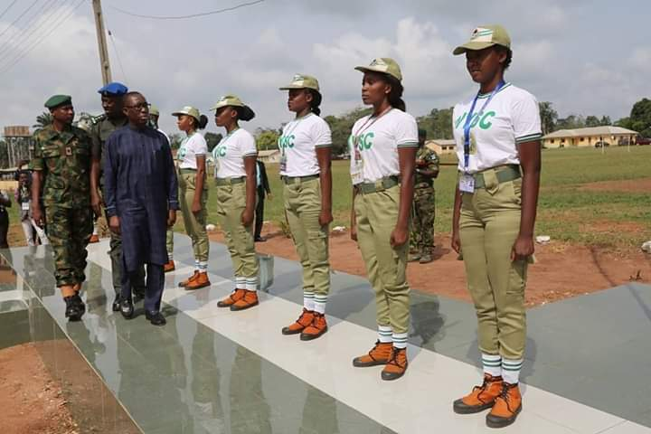 """Delta State Governor Promises To Transform """"Below Standard"""" NYSC Camp (Details) 1"""