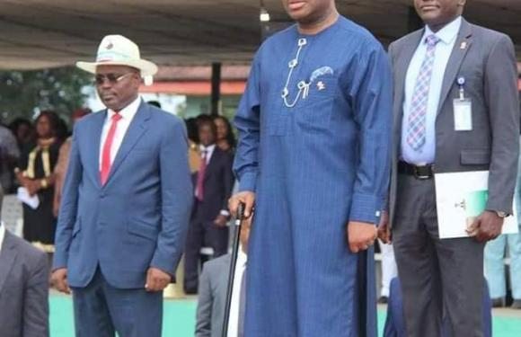 NYSC CLOSING CEREMONY: Udom Emmanuel Donates N20,000 To Each Corp Member