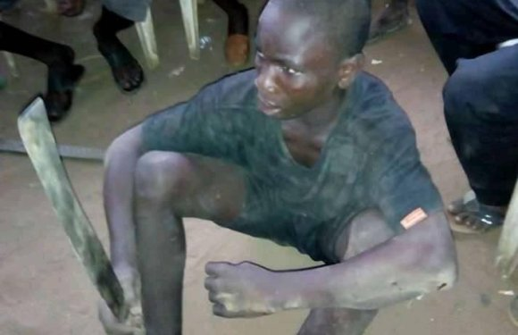 Boy Caught With Machete On His Way To Behead Victim In Delta (Photo)
