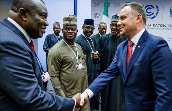 Enugu Governor And Yahaya Bello Meet President Of Poland, Andrzej