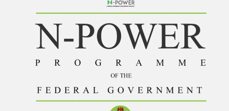 "N-Power: FG begins selection for Batch ""C"" applicants"
