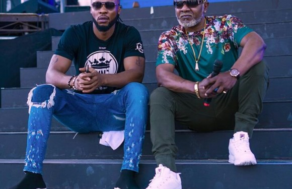 Flavour And Awilo Logomba Pictured Together