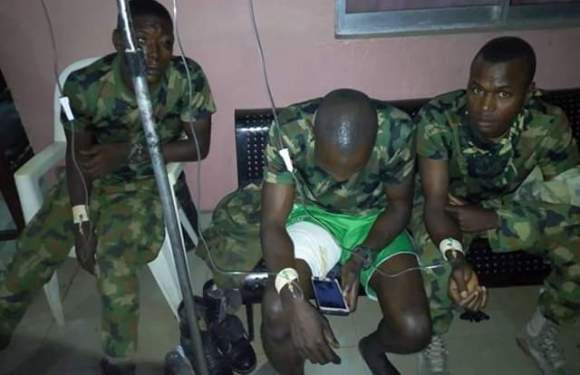 Nigerian Soldiers, Civilians Involved In Serious Accident In Umuahia [Photos]
