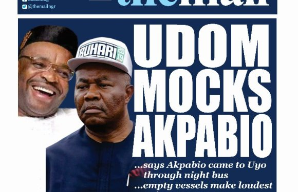 Gov Emmanuel mocks Akpabio, suggests he 'came to Uyo by night bus'