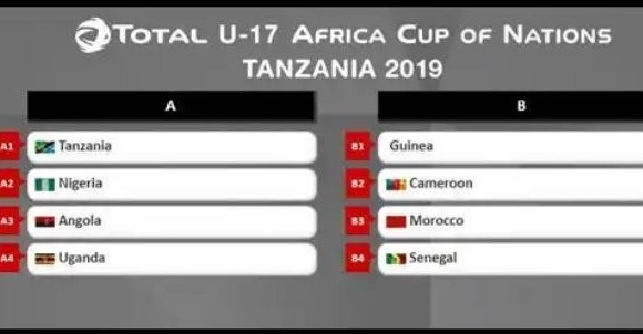 Golden Eaglets To Face The Host Tanzania In Group A U17 AFCON