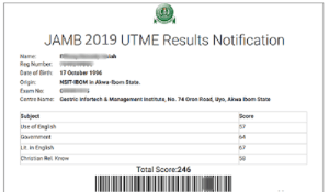 JAMB Releases 2019 UTME Results – Guide To Check Jamb Results