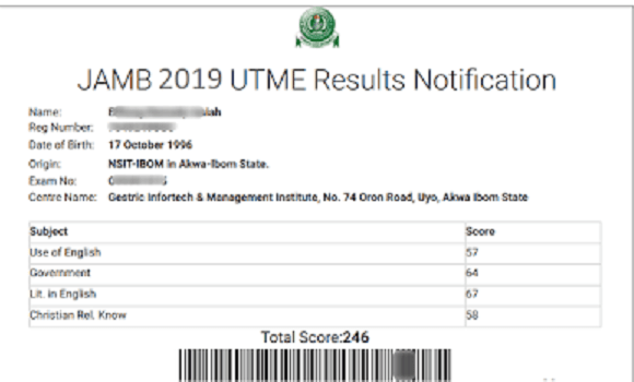 How to check JAMB 2019 UTME Result