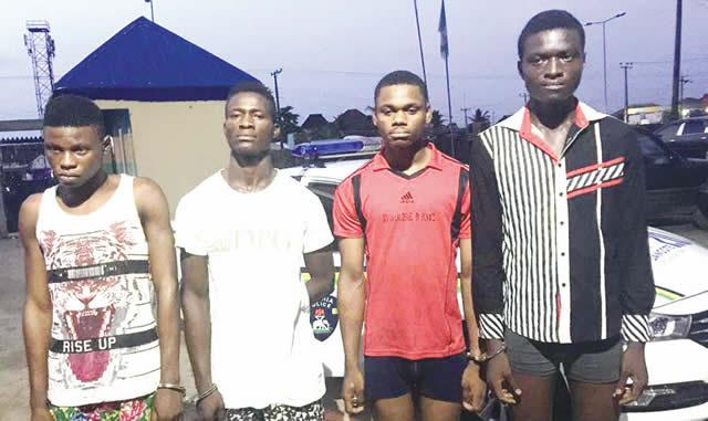 Command arrests four suspected cultists in Rivers, recovers arm