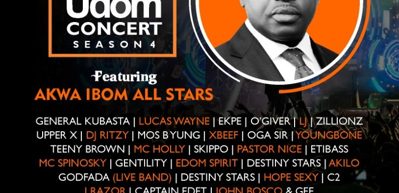 Utang Akwa Ibom to parade over 70 Entertainers for Udom 2019 Inauguration ceremonies! (See Full List )