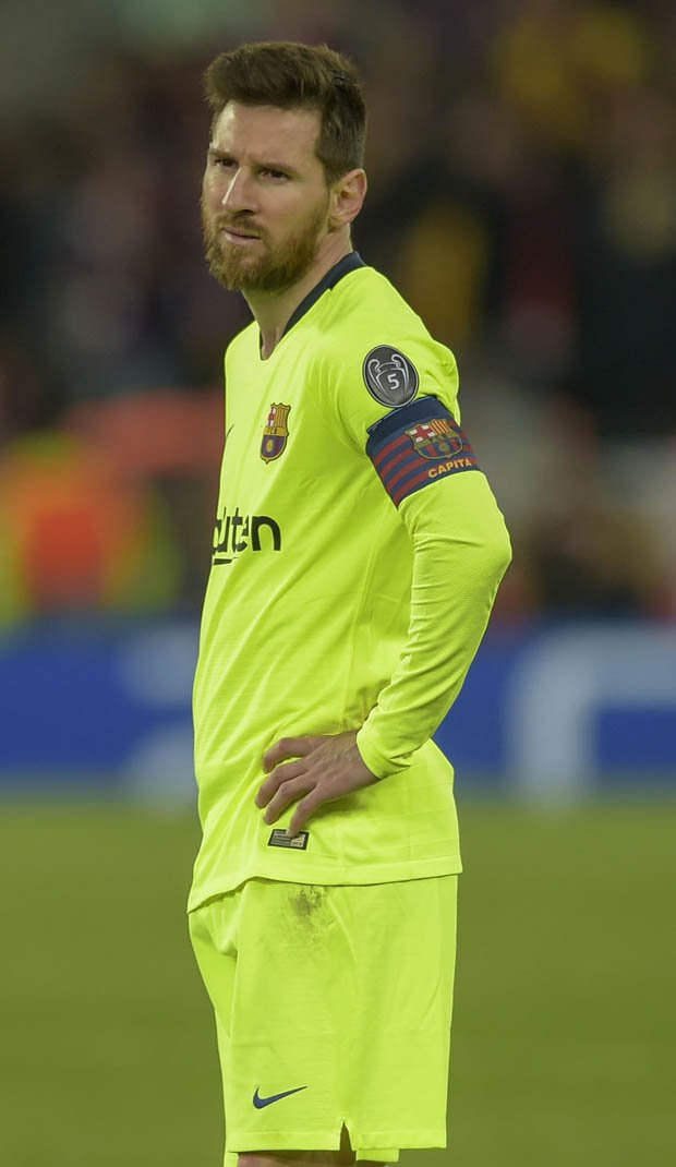 Did you see Lionel Messi's reaction to Liverpool winner against Barcelona?