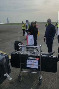 Ned Nwoko and his team arrive Asaba in 3 Private Jets ahead of Regina Daniels' Carnival