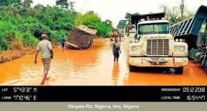 Jubilation in Imo over new Okigwe Road 1