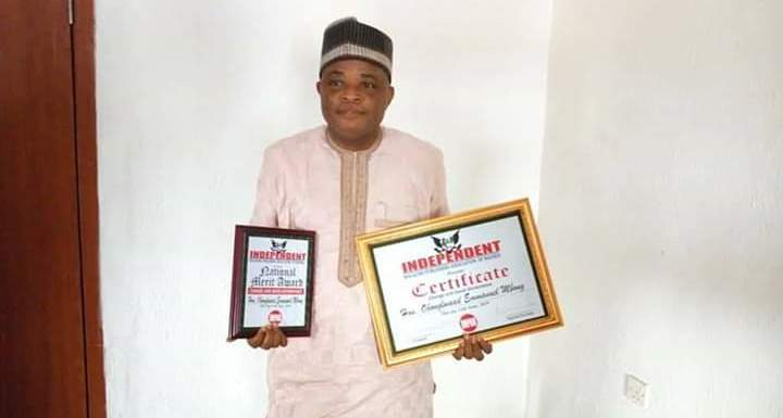 Eket PDP Chapter Chairman bags National Award (pictures)