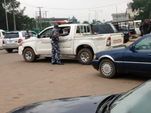 Security operatives, Gov. Obaseki's supporters besiege Edo Assembly