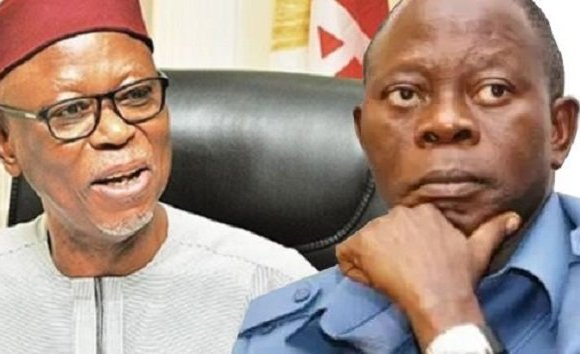 Oyegun blames Oshiomhole for crisis in Edo Assembly
