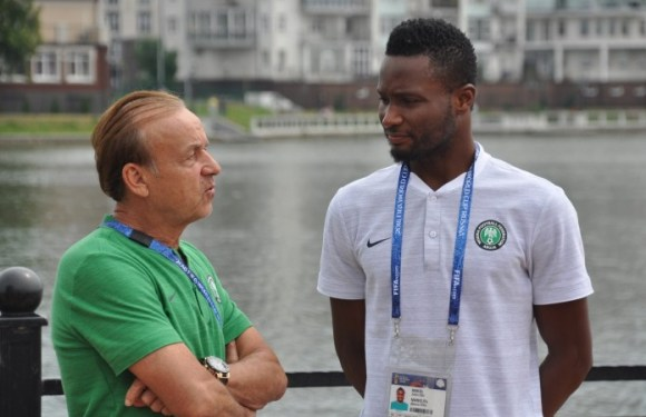 Nigeria vs South Africa: Rohr gets major boost as Mikel Obi returns to training