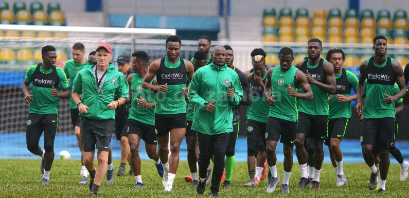 Nigeria vs South Africa: Super Eagles leave for Cairo