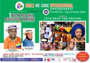 Save the Youths: 'Smile we Care' continues empowering youths