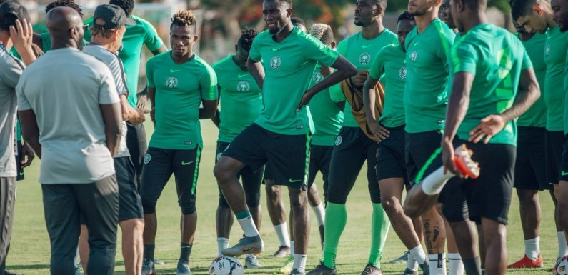 Ukraine vs Nigeria: 18 Super Eagles players report to camp