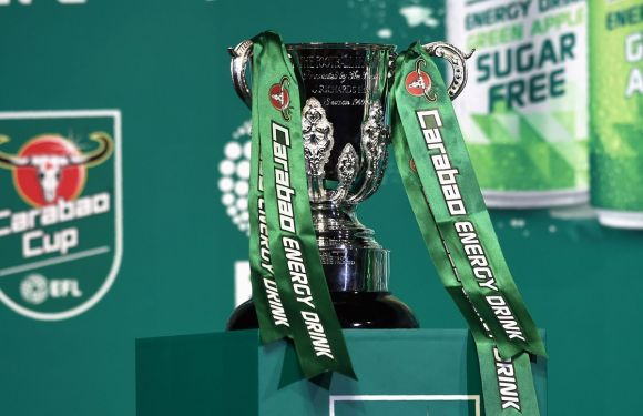 Carabao Cup second round draw confirmed [Full draw]